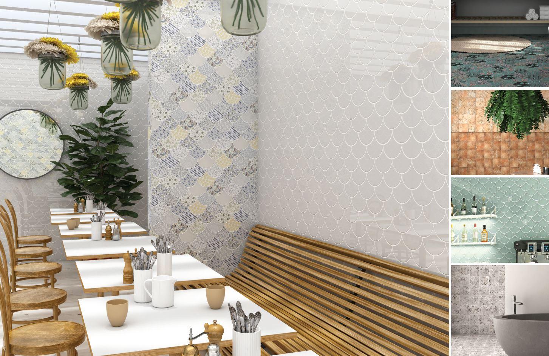 bunte neuheiten by cevica fct fliesen steine fen. Black Bedroom Furniture Sets. Home Design Ideas